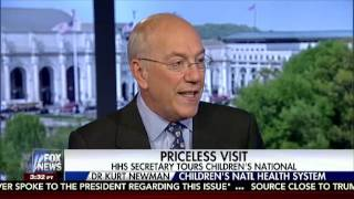 ICYMI Childrens National Medical Center CEO Dr Kurt Newman spoke to Fox