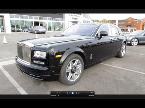 2013 Rolls Royce Phantom Series II Start Up, Exhaust, and In Depth Review