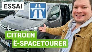 Essai Citroën ë-SpaceTourer : la vérité sur son autonomie