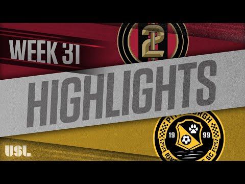 Atlanta United 2 - Питтсбург 1:1. Видеообзор матча 11.10.2018. Видео голов и опасных моментов игры