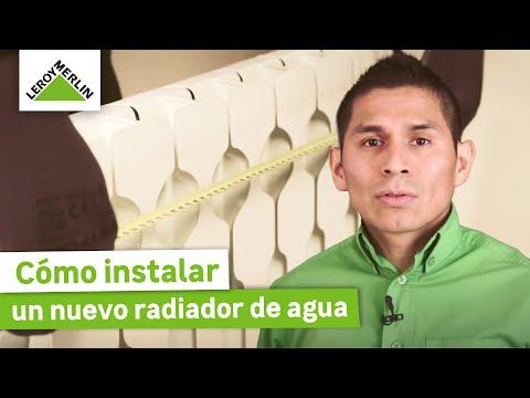 Cómo instalar un nuevo radiador de agua (Leroy Merlin)