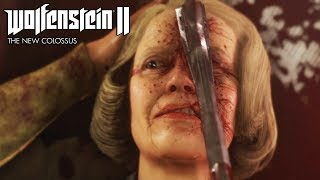 Wolfenstein 2 The New Colossus All Deaths & Endings