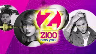 WHTZ Z100 Top Of Hour Radio Jingle, IHeart Radio 9 At 9 Intro, Commercial Free With Maxwell