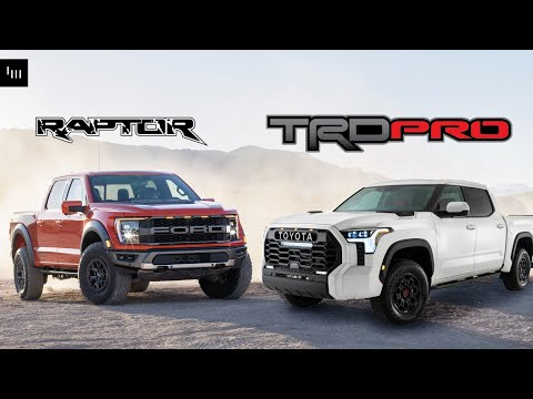 The 2022 Toyota Tundra TRD Pro Is [Basically] A Ford Raptor Clone Under The Skin
