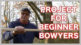 How To Make Your First Long Bow From A Sapling. Light Weight Longbow For Beginners