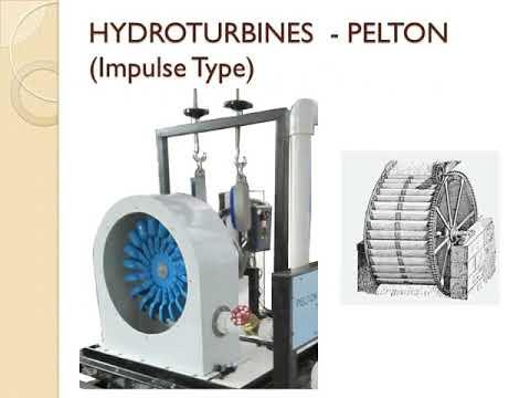 Pelton Impeller Turbine
