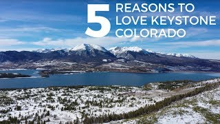 5 REASONS TO LOVE KEYSTONE COLORADO | Family Skiing | Underrated Ski Town | Ski Trip