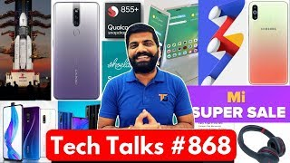 Tech Talks #868 - Honor 20i, Realme X, Mi A3 Launch, Chandrayaan 2, Snapdragon 855+, S11 Display