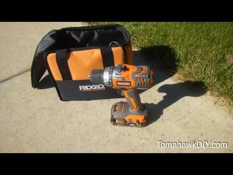 RIDGID 18V Cordless Drill Review