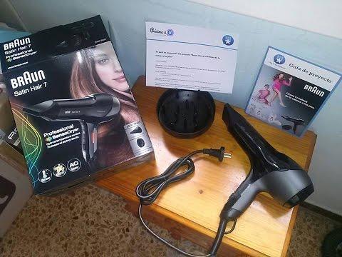 Secador de pelo Braun Satin-Hair 7 SensoDryer HD 785