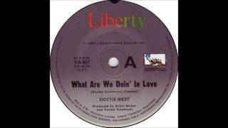 Dottie West & Kenny Rogers - What Are We Doin' In Love - Billboard Top 100 of 1981