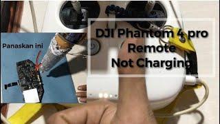 Memperbaiki Remote Kontrol DJI Phantom 4 Pro berbunyi beep dan tidak bisa Charging