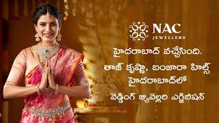 NAC JEWELLER's Wedding Jewellery Exhibition on March 9, 10 and 11-2019