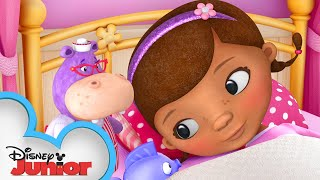 Doc Needs Some Rest! 😴  Doc McStuffins   Disney Junior