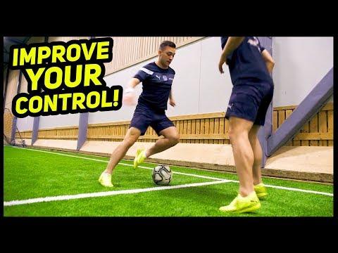Improve Your Ball Control Skills! ★ SkillTwins Tutorial