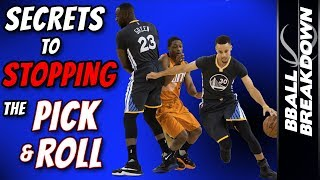 The SECRETS To Stopping The PICK AND ROLL