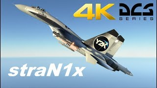 DCS World - 4K UltraWide - Su 27 Extreme Solo - 21:9 - 3840 x 1600p - [SoundTrack's by Widek]
