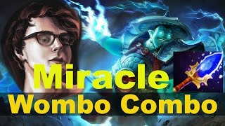Wombo Combo Miracle Storm Spirit with Phoenix & Earthshaker Vol.1 - 9011MMR Ranked Match Dota 2