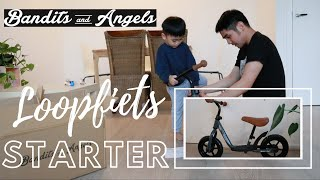 BANDITS and ANGELS LOOPFIETS STARTER GRAY LIMITED EDITION | BALANCE BIKE | UNBOXING & ASSEMBLY