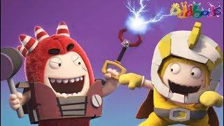 Oddbods Full Episode - Superheroes   Funny Cartoons For Kids