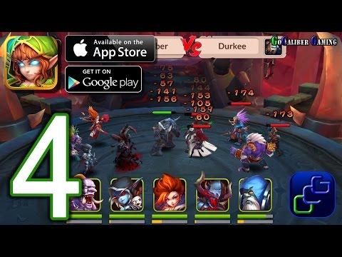 Heroes and Titans: 3D Battle Arena iOS Walkthrough - Part 4 - Arena