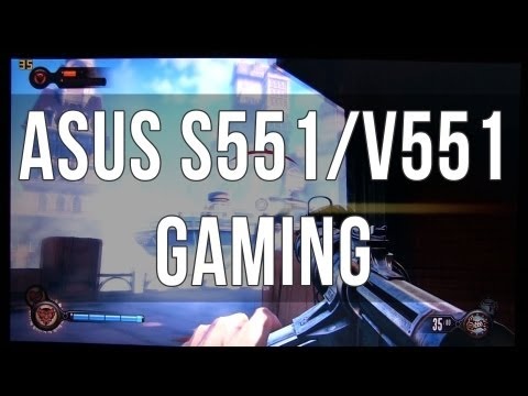 Asus S551 / V551 gaming performance review