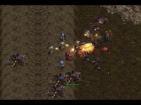 EPIC - Effort (Z) v Last (T) on Sniper Ridge - StarCraft  - Brood War REMASTERED