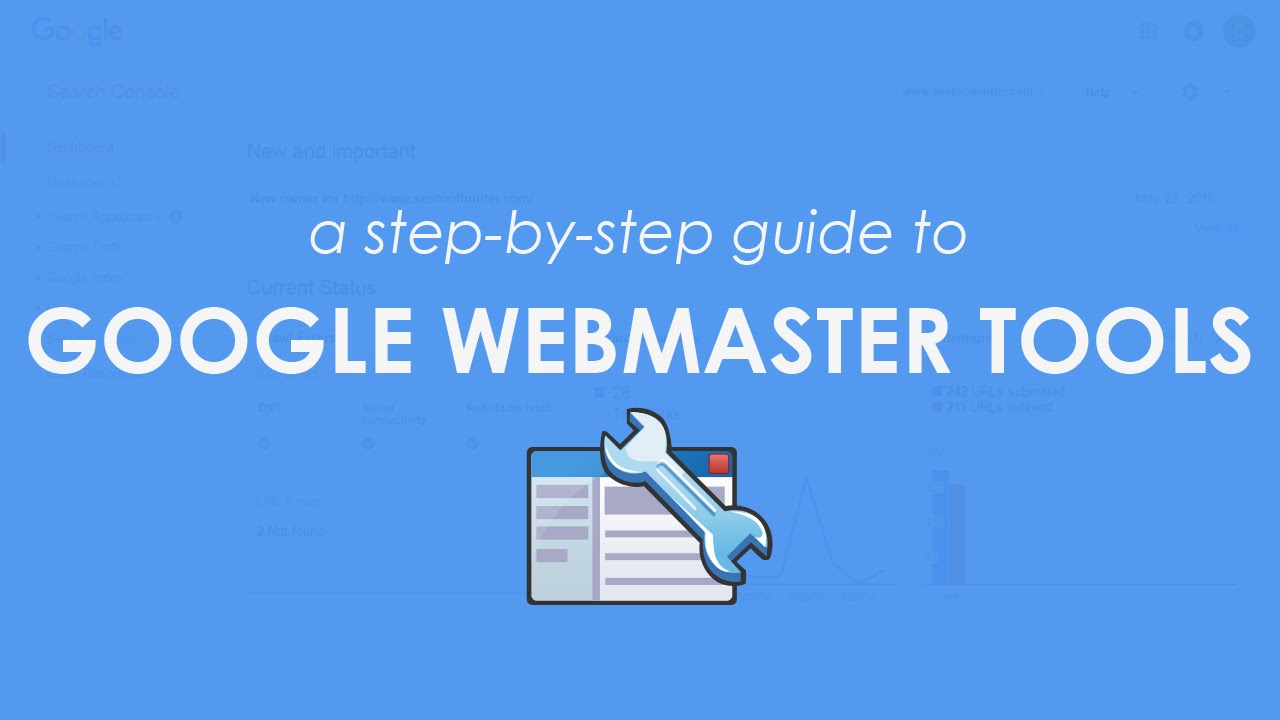 Guide for Using the Google Search Console