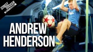 Insane Soccer ball skills World Freestyle champion Andrew Henderson Video