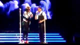 "The Voice Concert, Duet ""Stay"" performed by Josh Kaufman and Tessanne Chin 2688"