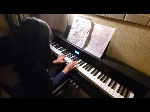 I started with this student before she knew anything about piano. I am so proud to see her grow.