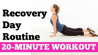 How to relieve DOMS, Muscle Stiffness, Soreness | 20-Minute Recovery Day Routine by jessicasmithtv