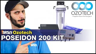 Ozotech Poseidon 220 Kit: Crystal clear reef tank water, increased PAR & higher ORP with Ozone!