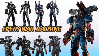 War Machine Armors In The MCU : From Iron Man To Avengers Endgame
