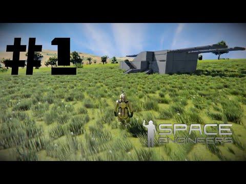 Space Engineers EP01 : Základňa