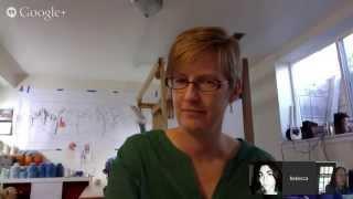 Fiber Art Now FANfare interview with Rebecca Mezoff