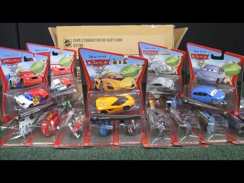 Super Chase! Disney Pixar Cars 2012 Case Unboxing Video With Russian Racer Memo Rojas Jr Fabrizio
