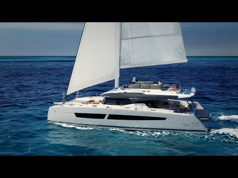 Fountaine Pajot New 59 video