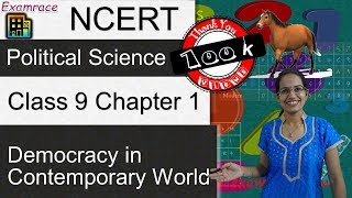 NCERT Class 9 Political Science / Polity / Civics Chapter 1: Democracy in Contemporary World - Download this Video in MP3, M4A, WEBM, MP4, 3GP