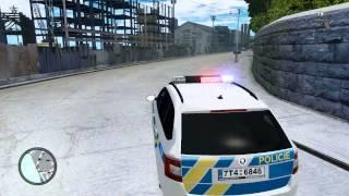 GTA IV MP Policejní honička kradeného vozu [HD]