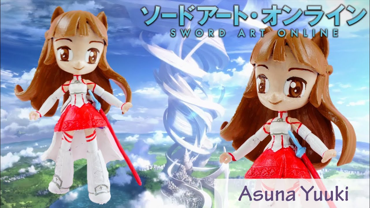 ASUNA YUUKI Custom My Little Pony Equestria Girls Mini Doll Sword Art Online (SAO)