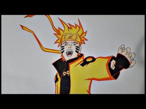 Drawing - Naruto Six Paths Sage Mode | Ninja World |