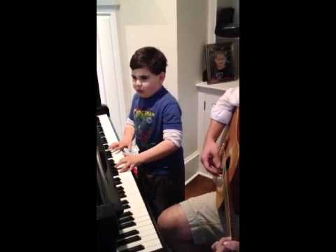 The Little Piano Man - Touching and Amazing