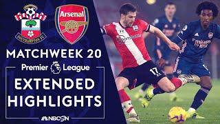 Southampton v. Arsenal | PREMIER LEAGUE HIGHLIGHTS | 1/26/2021 | NBC Sports