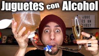 Cosas Pirrattas: Suero de Cerveza    Jeringa de Alcohol    Alcohol Vaporizado -  ChideeTv