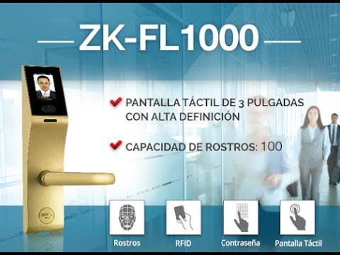 ZKTeco FL1000 - Cerradura Facial -