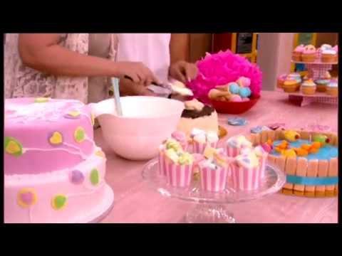Μες στην καλή χαρά - Η Μαρία Ρωμανιά μας φτιάχνει πρωτότυπες παιδικές τούρτες