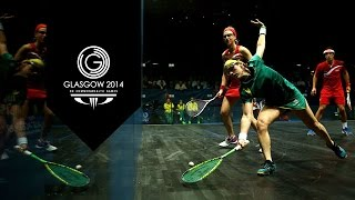 preview picture of video 'Squash Medal Matches - Day 11 Highlights Part 4 | Glasgow 2014'