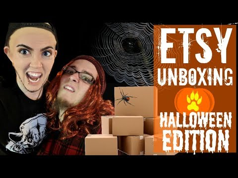 Etsy Fan-Mail Haul Unboxing- HALLOWEEN EDITION- Episode 4
