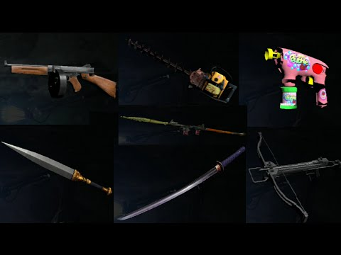 all campaign UNLOCKABLE weapons (SPOILERS) :: Resident Evil